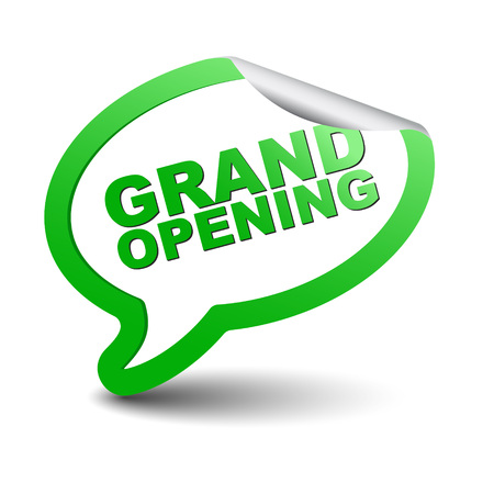 unveil: This is green element bubble grand opening