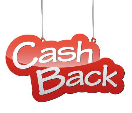 cash: This is red background cash back