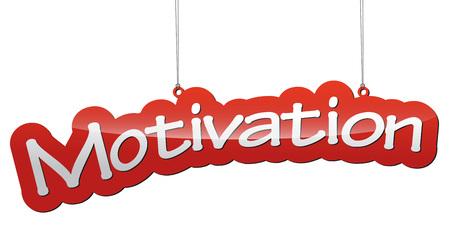Dit is rode tag vector achtergrond motivatie