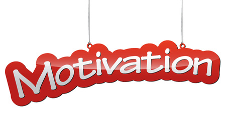 THis is red tag vector background motivation