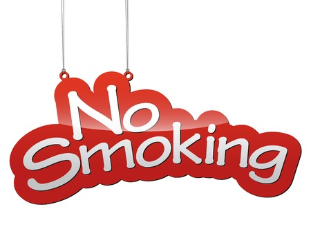THis is red tag vector background no smoking