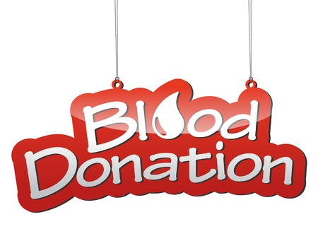 donation: THis is red vector background blood donation