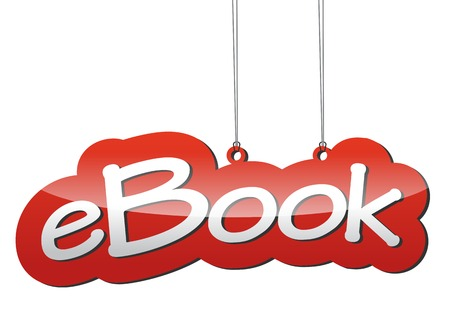 This is red vector background ebook