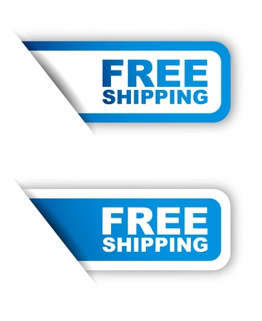 This is blue paper sticker free shipping two variant