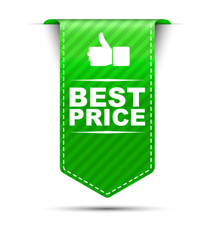 the best: This is green vector banner design best price