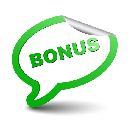 This is green vector element bubble bonus Ilustração
