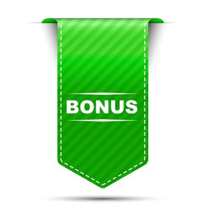 This is green vector banner design bonus