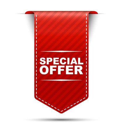 Dit is een speciaal aanbod van speciale vector banners Stock Illustratie