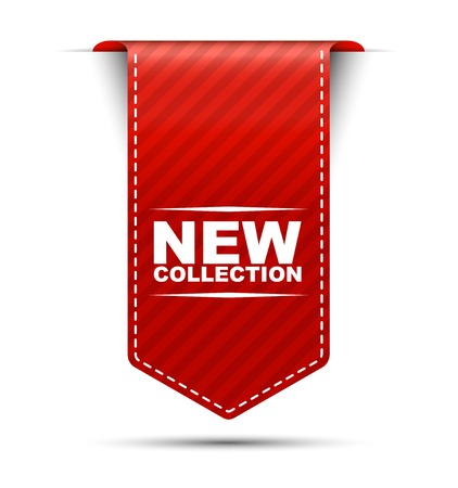 offer icon: This is red vector banner design new collection