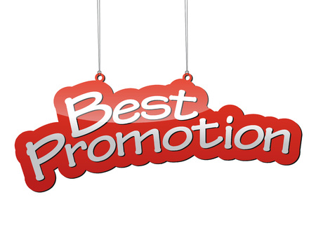 promotion: This is red vector background best promotion