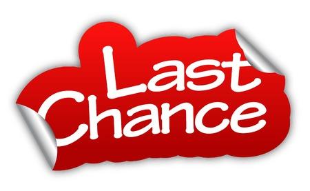 last chance: last chance, sticker last chance, red sticker last chance, red vector sticker last chance, last chance eps10, design last chance, sign last chance