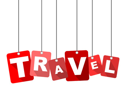 travel, red vector travel, flat vector travel, background travel 向量圖像