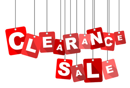 clearance sale, red vector clearance sale, flat vector clearance sale, background clearance sale