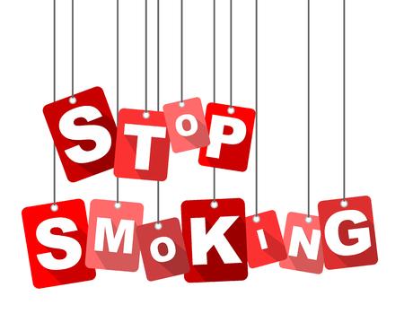 stop smoking, red vector stop smoking, flat vector stop smoking, background stop smoking
