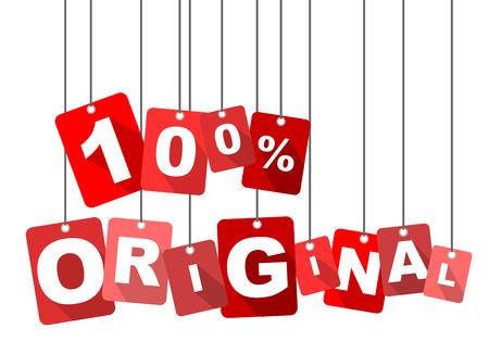 original: 100% original, red vector 100% original, flat vector 100% original, background 100% original