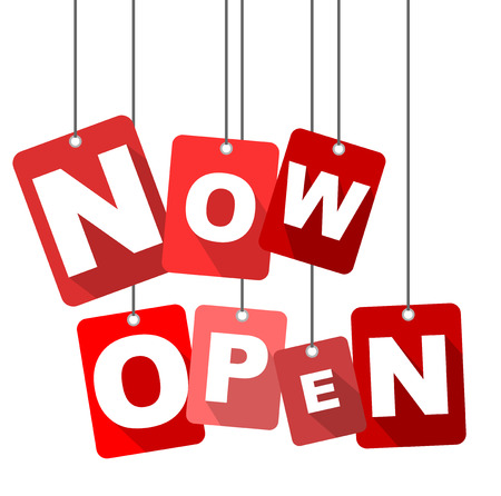 now open, red vector now open, flat vector now open, background now open