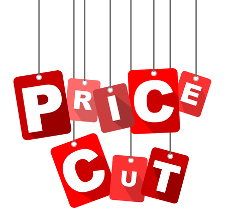 price cut: price cut, red vector price cut, flat vector price cut, background price cut