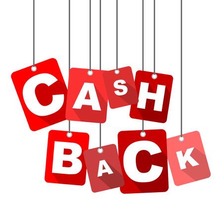 cash back: cash back, red vector cash back, flat vector cash back, background cash back