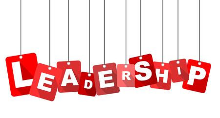 leadership, red vector leadership, flat vector leadership, background leadership Vettoriali