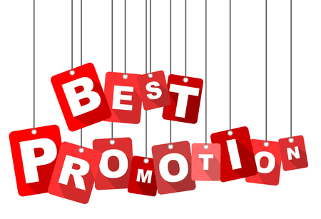 the best: best promotion, red vector best promotion, flat vector best promotion, background best promotion