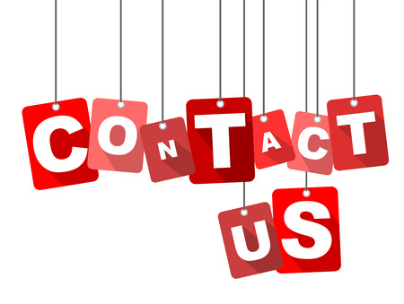 contact us: contact us, red vector contact us, flat vector contact us, background contact us