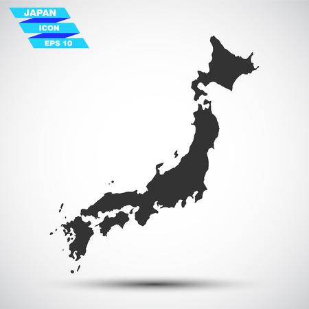 gray vector japan icon