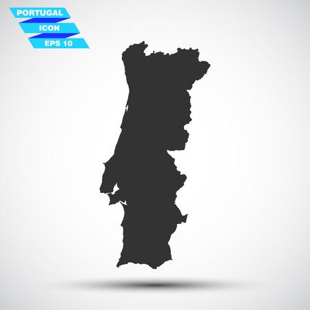 gray portugal icon