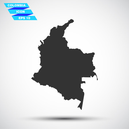 gray colombia icon