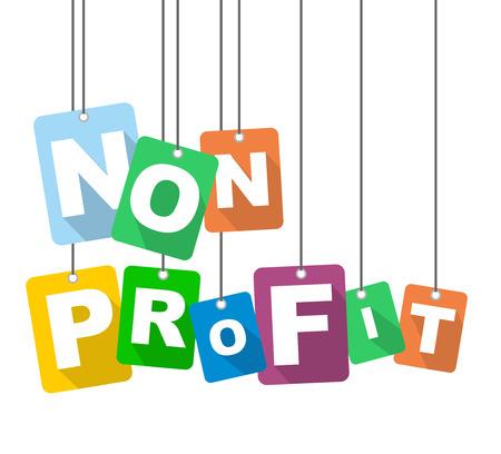 vector illustration background non profit
