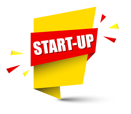 Banner startup design.
