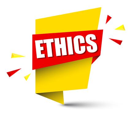 Ethics banner.