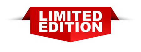 Limited edition banner template.