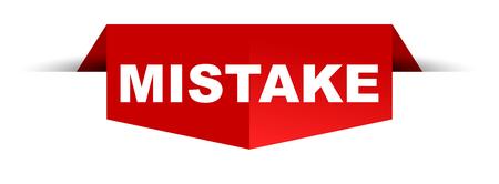 banner mistake