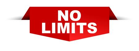 banner no limits Banque d'images - 102545988
