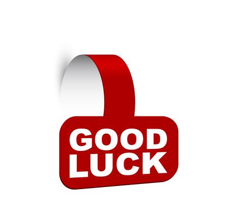 banner good luck Vettoriali