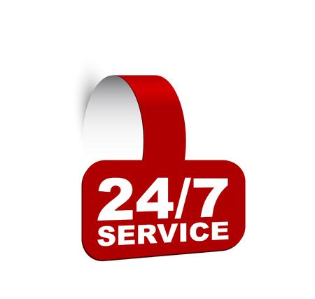 banner 24/7 service