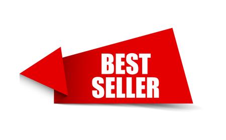 bannière best-seller Vecteurs