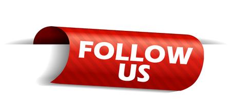 banner follow us