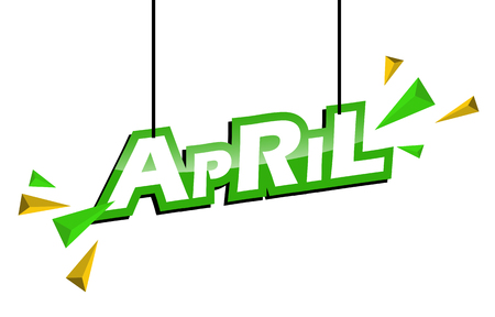 green and yellow tag april