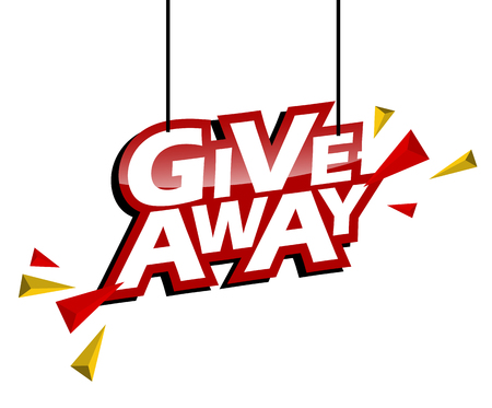 red and yellow tag give away
