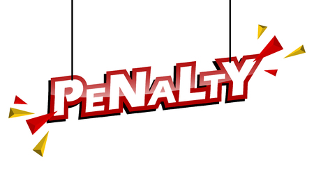 red and yellow tag penalty