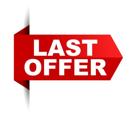 banner last offer