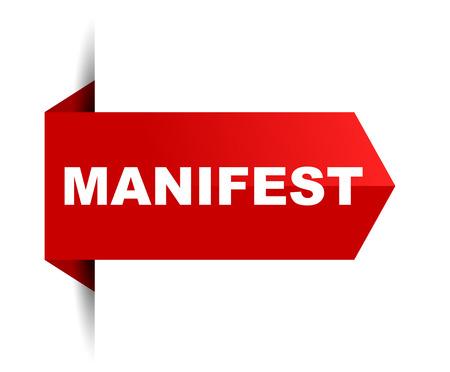 manifesto banner Vettoriali