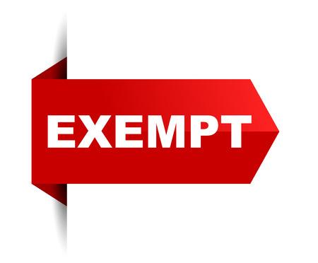 banner exempt