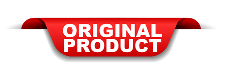 red banner original product Vetores