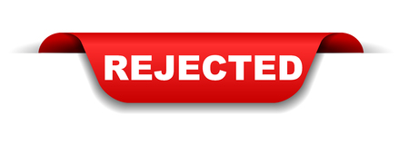 red banner rejected