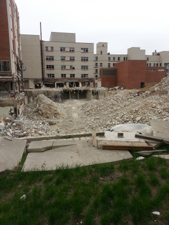 lafayette: Large Hospital Being Demolished Editorial