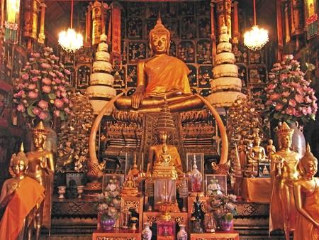 deliberation: Buddhist monastery;Wat Phananchoeng;Ayutthaya;Thailand