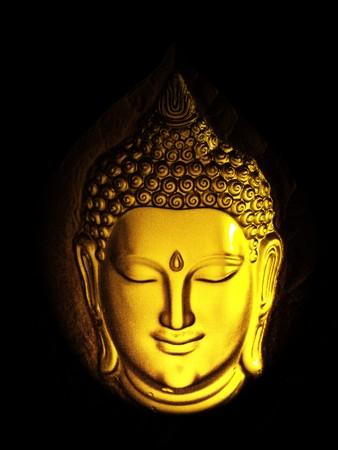 buddha face: Buddha head;Thailand