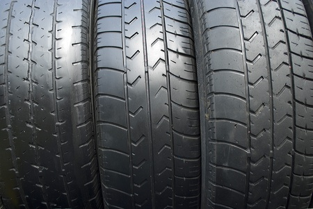 Used tires;Thailand photo